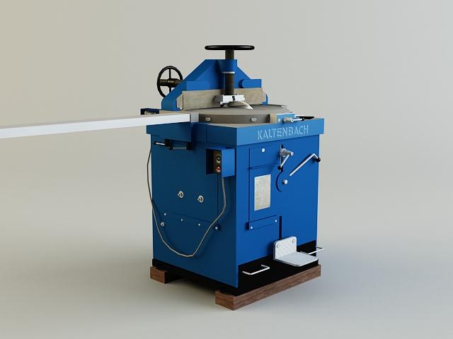 stroj za piljenje 3d model 3ds max obj 139162