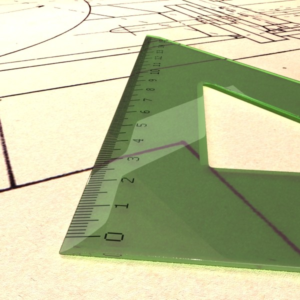 square angle ruler 01 3d model 3ds max fbx obj 132180