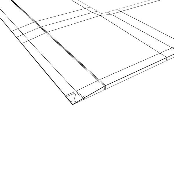square angle ruler 01 3d model 3ds max fbx obj 132185
