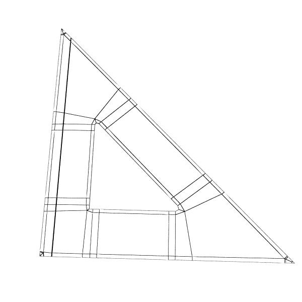 Négyszögletes vonalzó 01 3d modell 3ds max fbx obj 132187