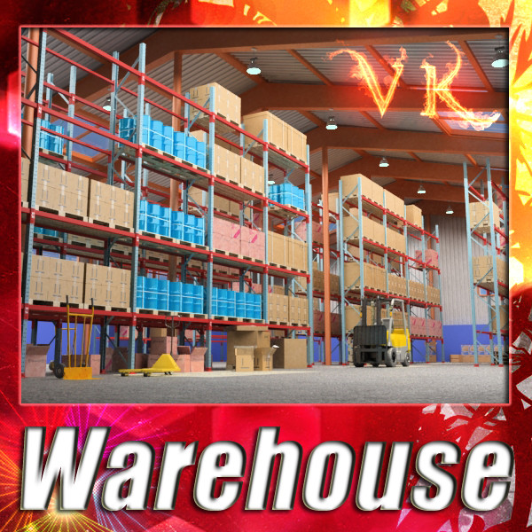 warehouse & props mega pack 3d model max 131374