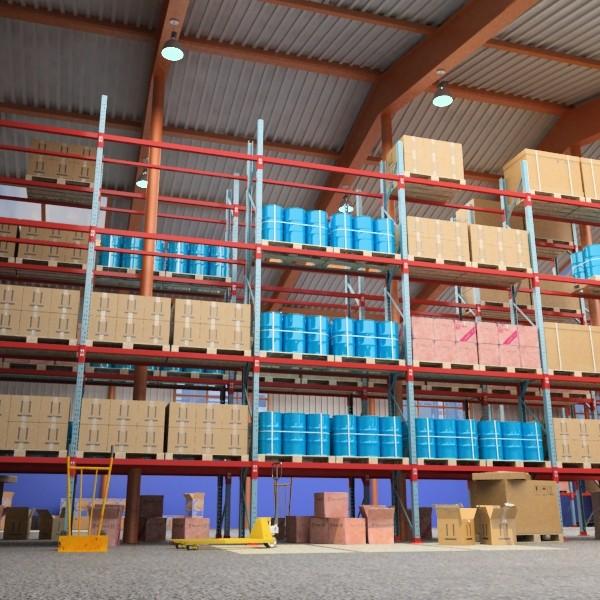 warehouse & props mega pack 3d model max 131375