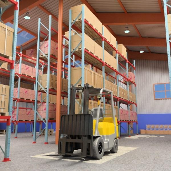 warehouse & props mega pack 3d model max 131376