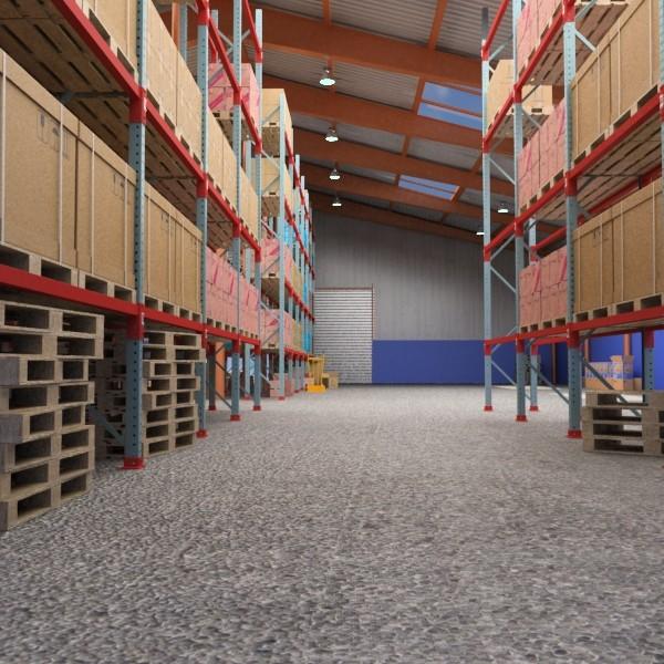 warehouse & props mega pack 3d model max 131378
