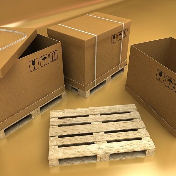 warehouse & props mega pack 3d model max 131450
