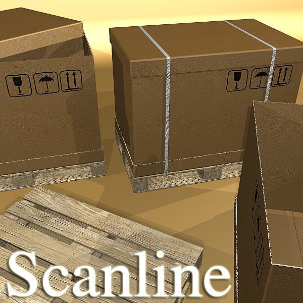 warehouse & props mega pack 3d model max 131453