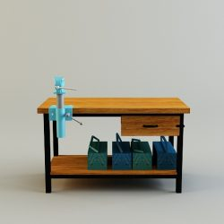 Work Bench ( 111.72KB jpg by DropAssets )