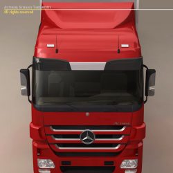 Mercedes Actros Megaspace ( 62.94KB jpg by tartino )