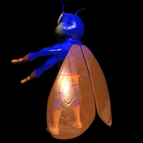 supercigale хүүхэлдэйн кинон шулуухан 3d загвар 3ds хамгийн их fbx Amp obj 112547