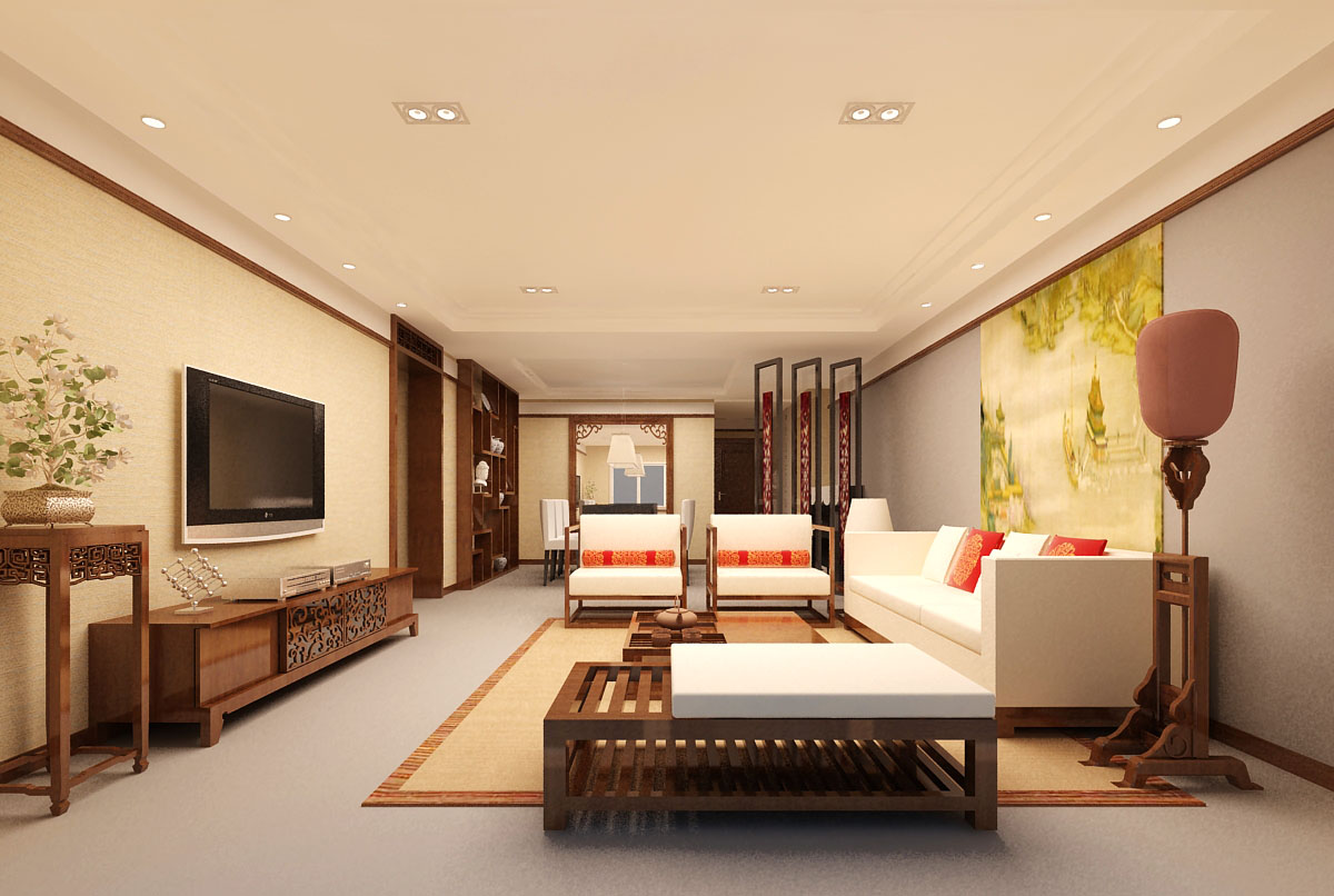 3d home 0856 3d model interior max ar vr 3d home