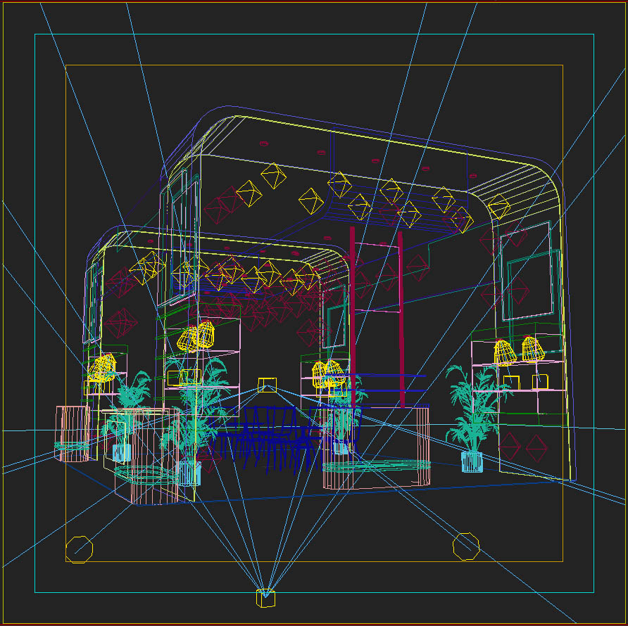 4 exhibit booth design for trade show 3d model 3ds max dxf dwg fbx c4d ma mb hrc xsi texture obj 150980