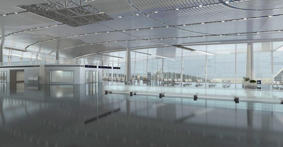 airport terminal lobby 001 3d model max 83018