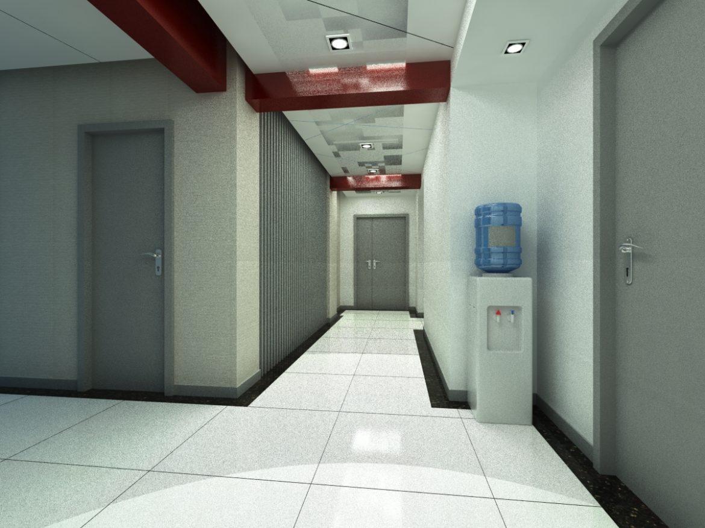 aisle spaces 007 3d model max 124903