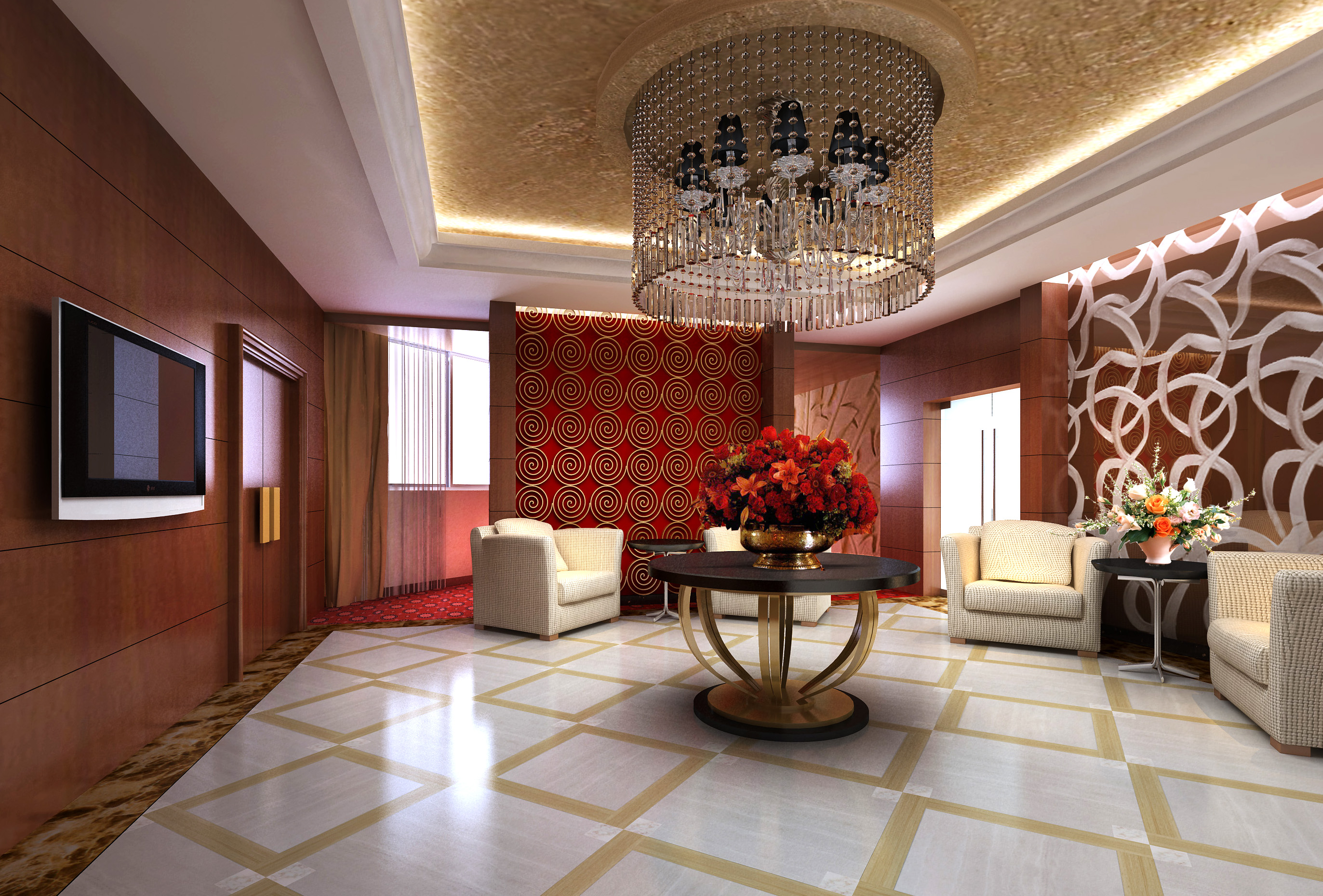 antechamber 028 two 3d model max 125001