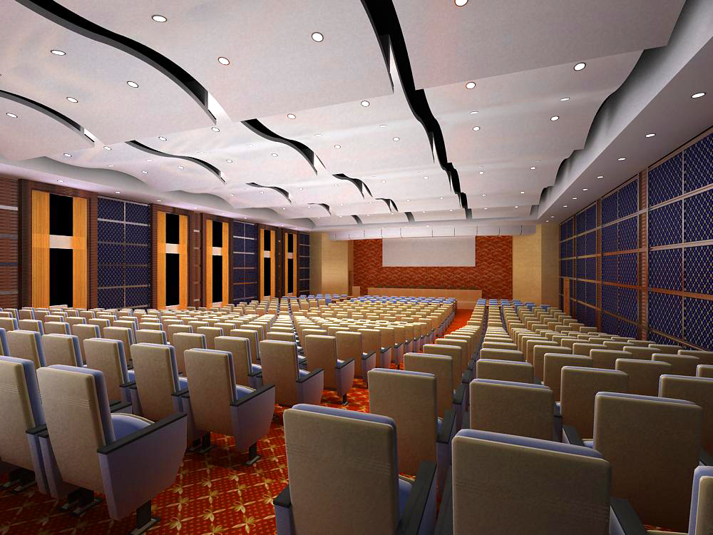 auditorium otağı 005 3d model max 125438