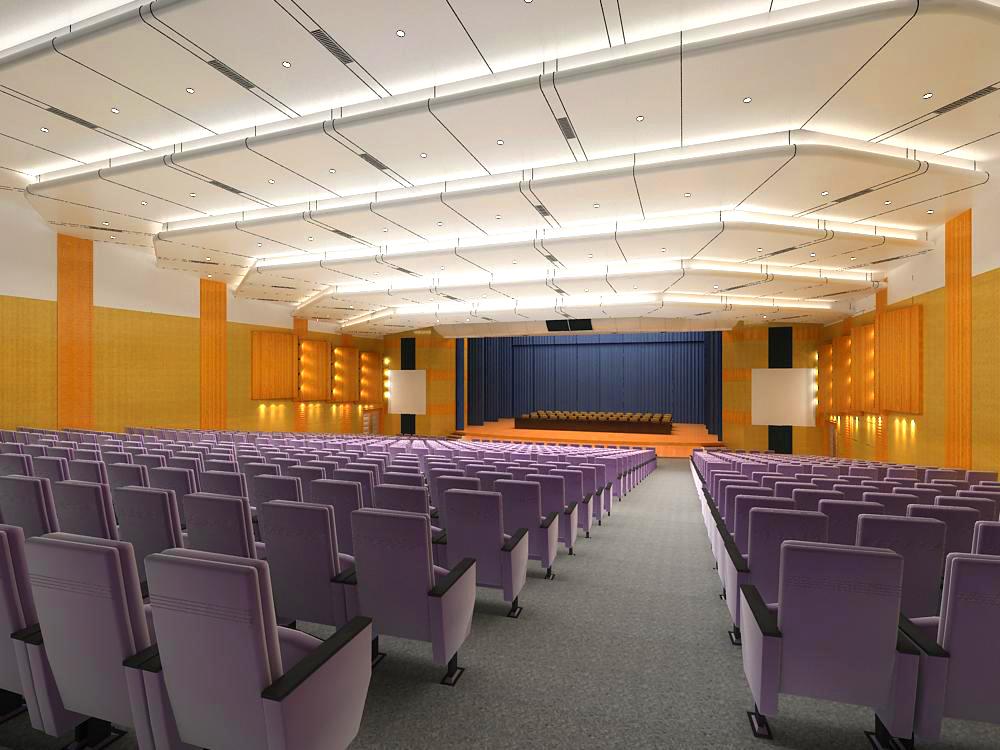 auditorium room 006 3d model max 125440