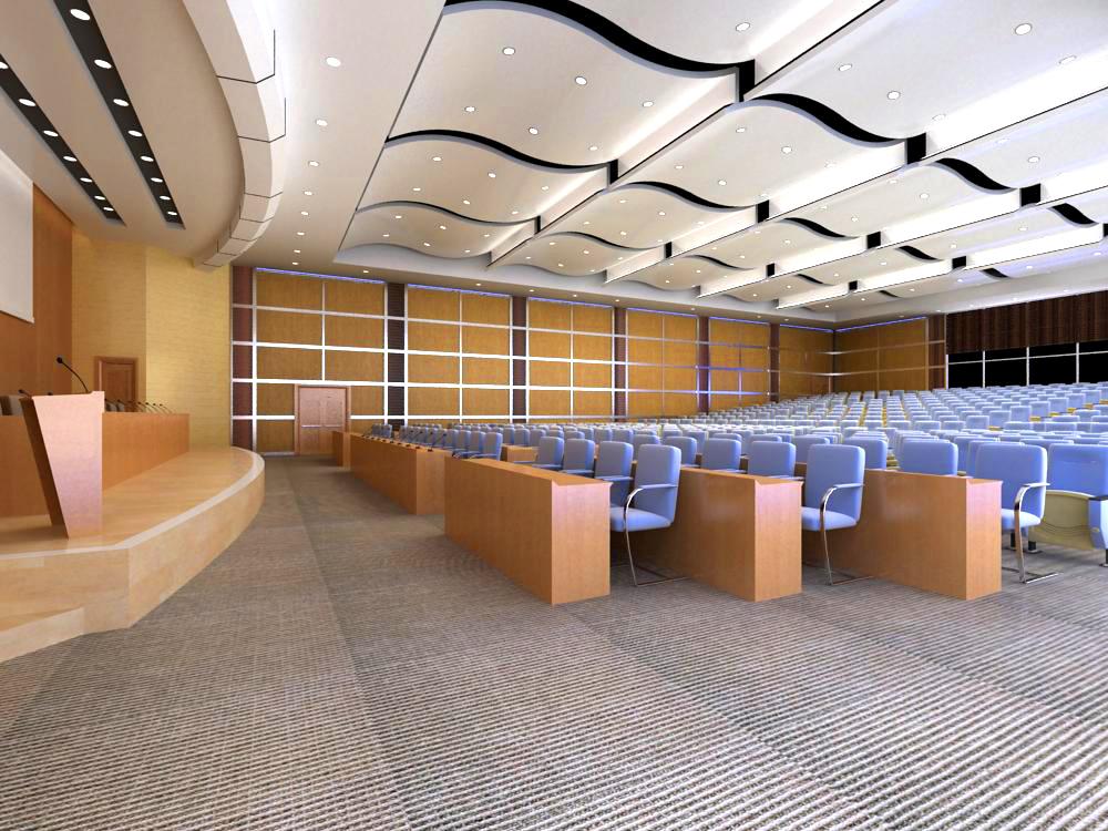 auditorium room 007 3d model max 125442