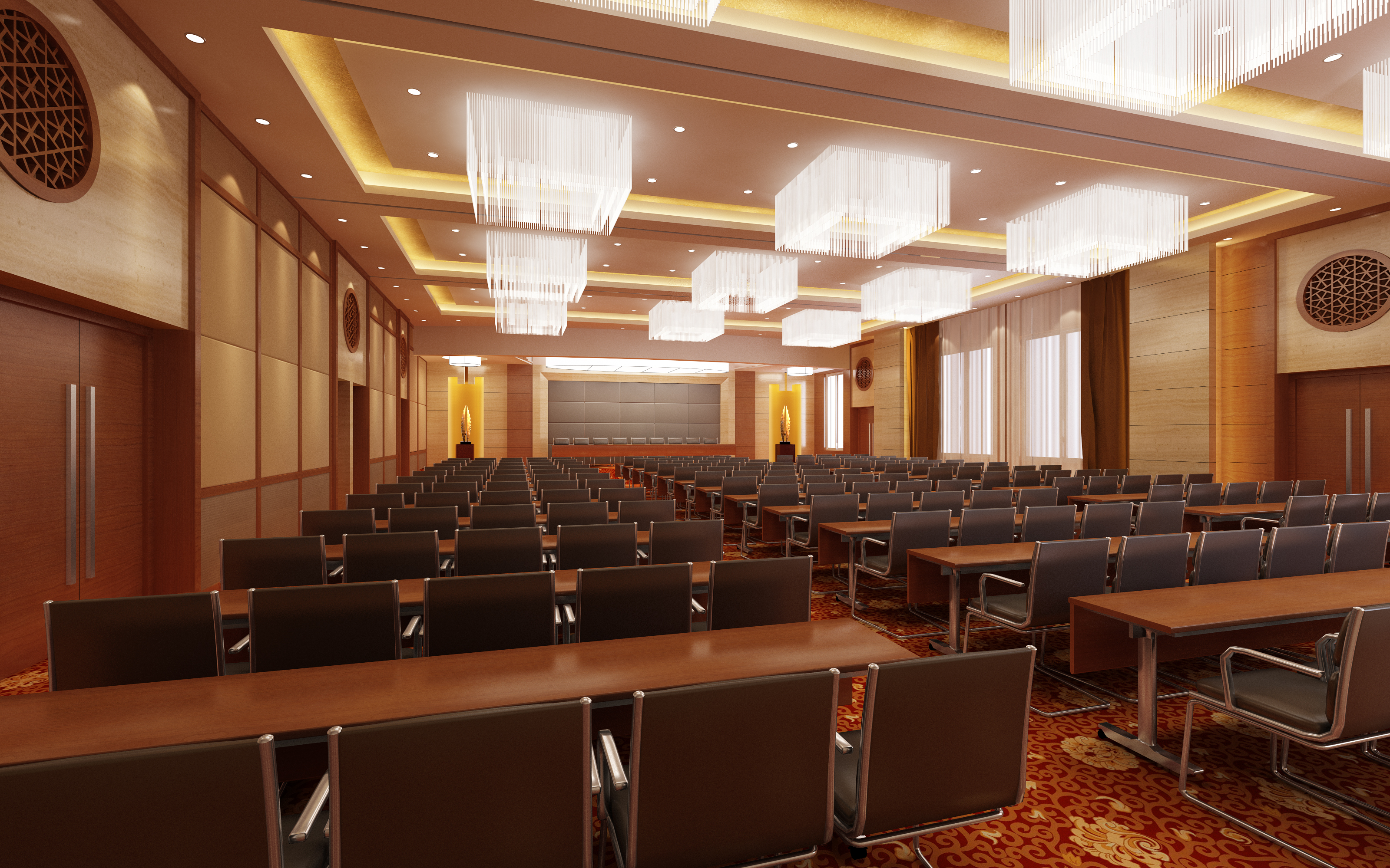 auditorium room 010-2 3d model max 125229