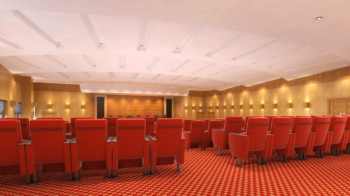 auditorium room002 v2 3d model max 125227