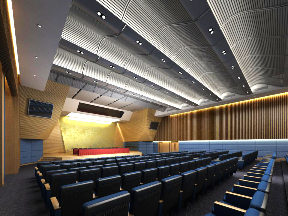 auditorium room004 3d model max 125241