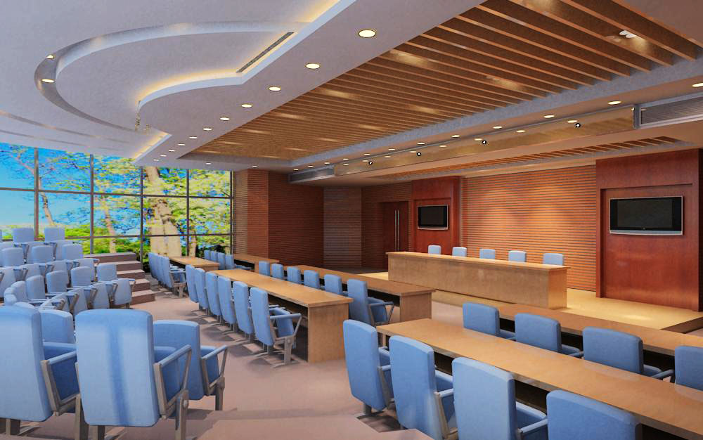 auditorium room005 3d model max 125239