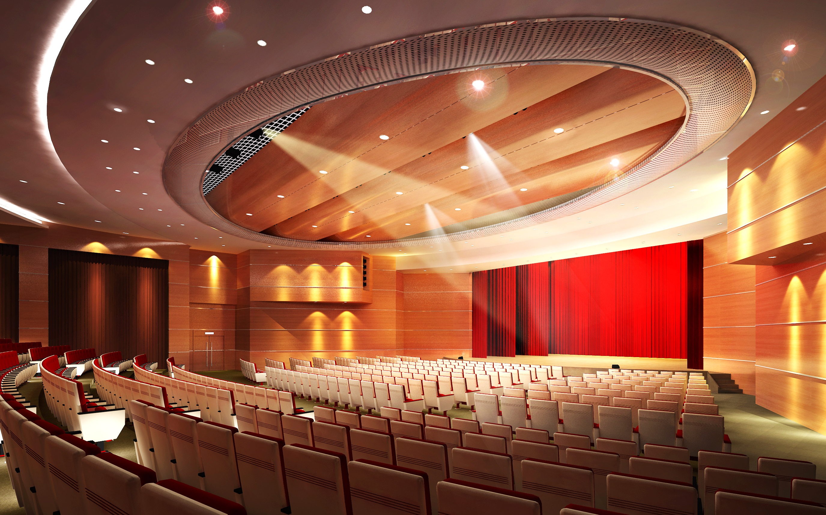 auditorium room008 3d model max 125233