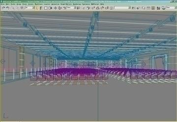 auditorium room009 3d model 3ds max 109655