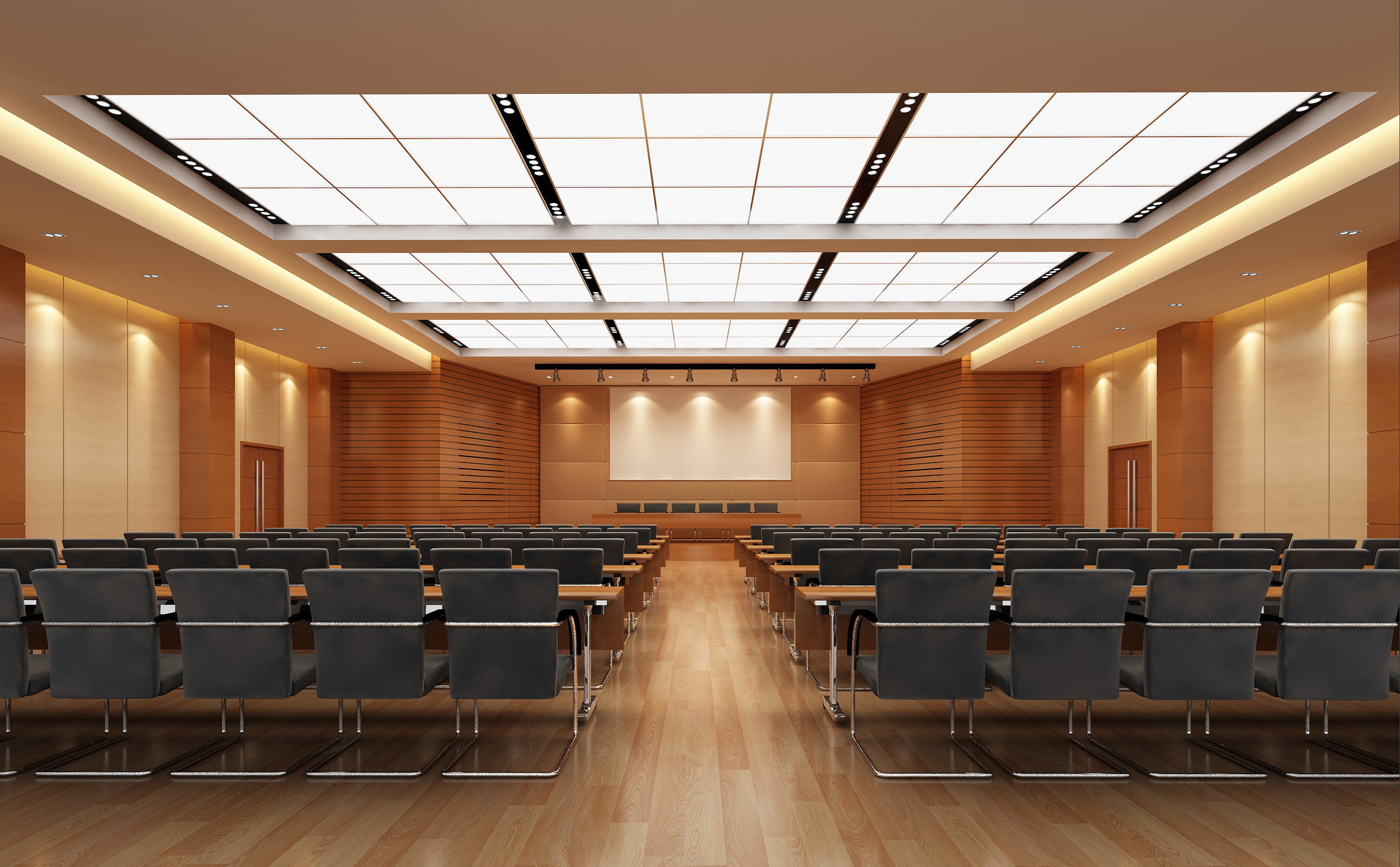 auditorium room0092 3d model max 125231