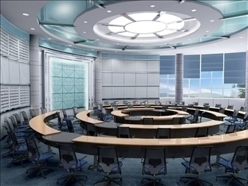 auditorium room015 3d model 3ds max 109666