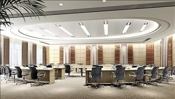 auditorium room017 3d model 3ds max 109670