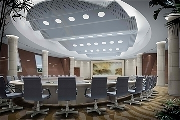 auditorium room020 3d model 3ds max 109676