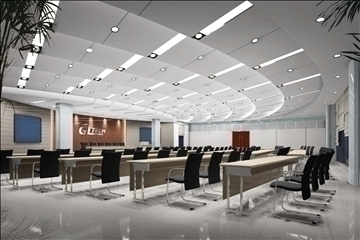 auditorium room022 3d model 3ds max 109680