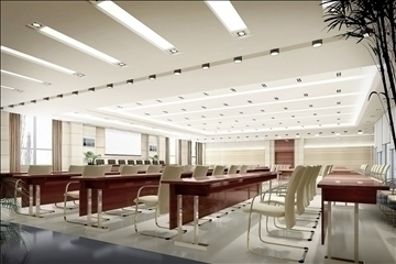auditorium room023 3d model 3ds max 109682