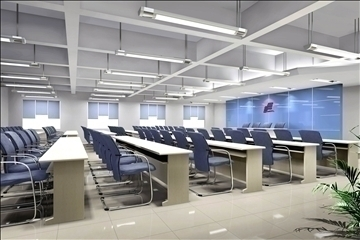 auditorium room026 3d model 3ds max 109688