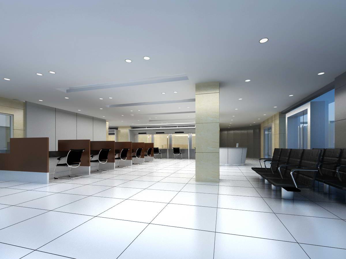 bank space 011 3d model max 125205