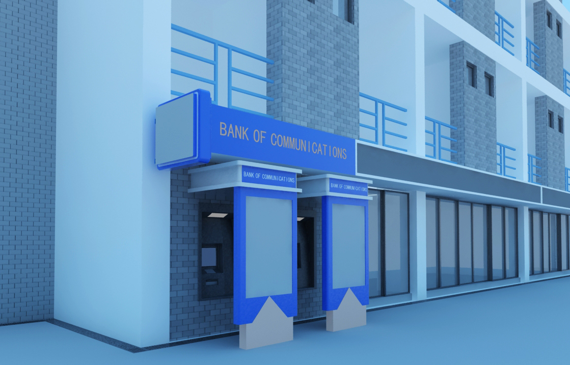 bank space 013 3d model max 125201