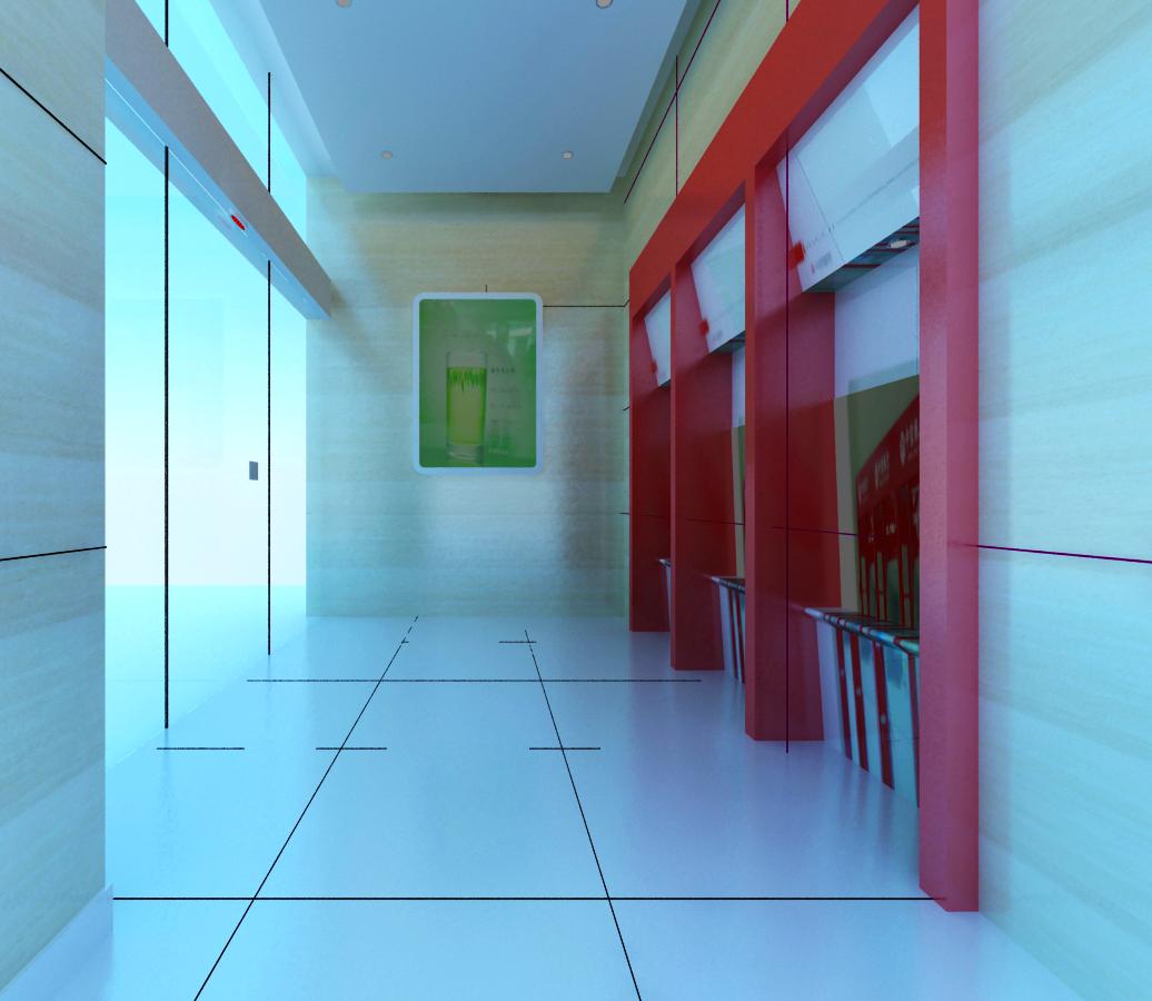 bank space 016 3d model max 125195