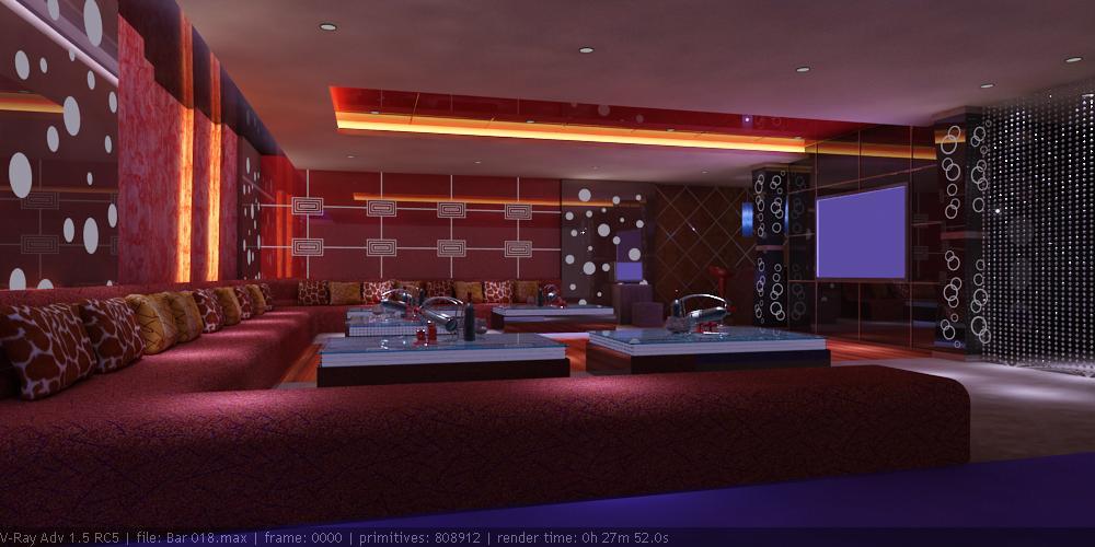 bar 018 two 3d model max 125479