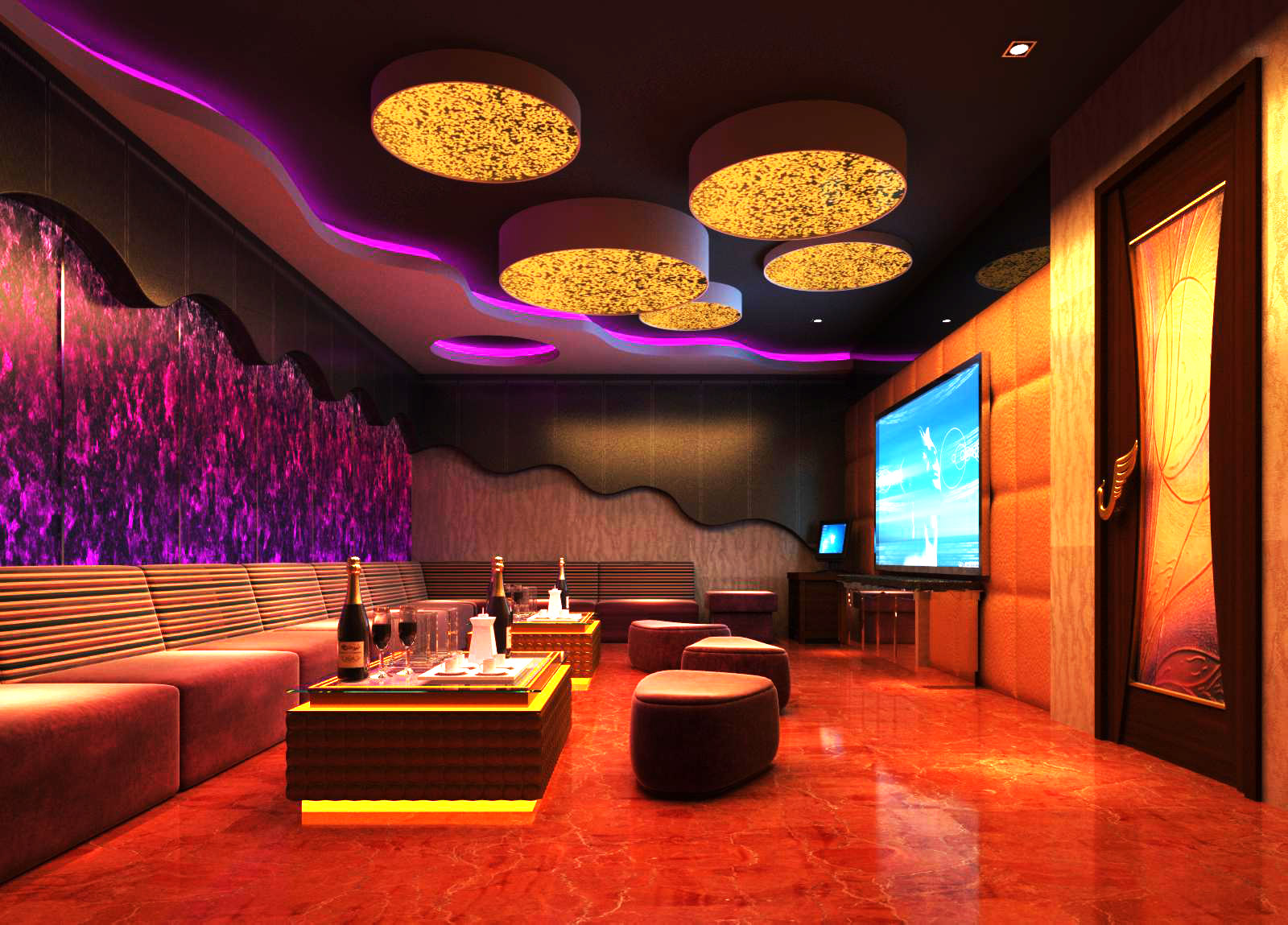 bar space 018 3d model max 125164