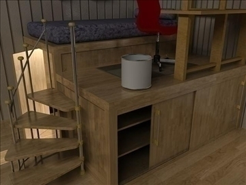 bedroom 01 3d model ma mb obj 91912