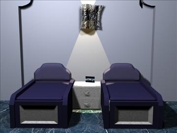 bedroom 05 3d model 3ds 94115