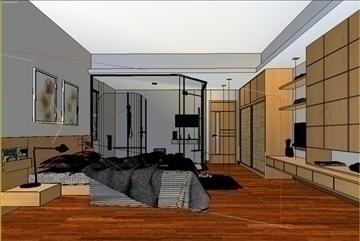 bedroom 12 3d model max 94480