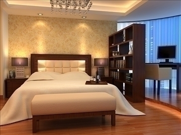 bedroom 18 3d model max 100436