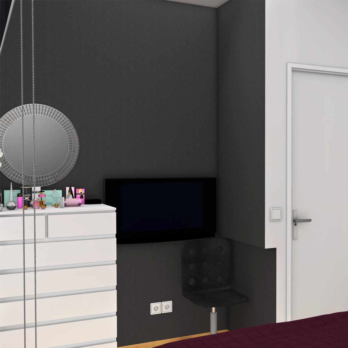 bedroom 8 3d model 3ds max fbx c4d ma mb obj 159553