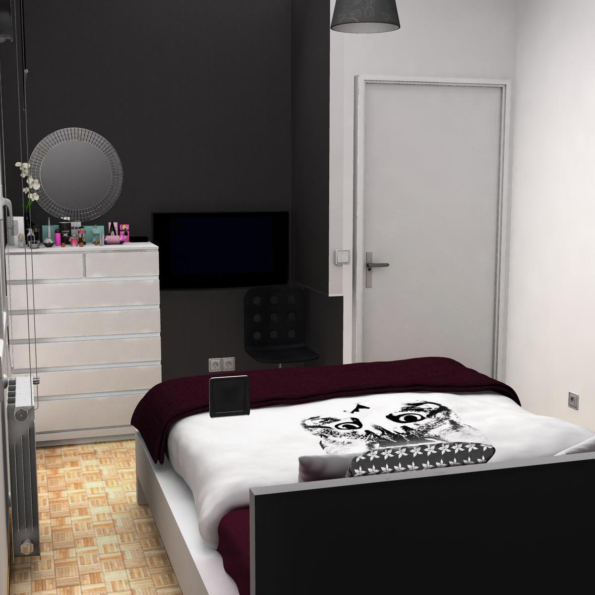 bedroom 8 3d model 3ds max fbx c4d ma mb obj 159561