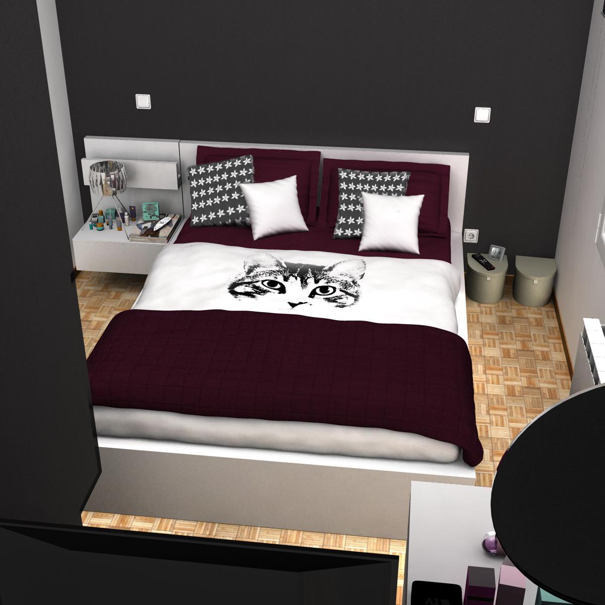 bedroom 8 3d model 3ds max fbx c4d ma mb obj 159562