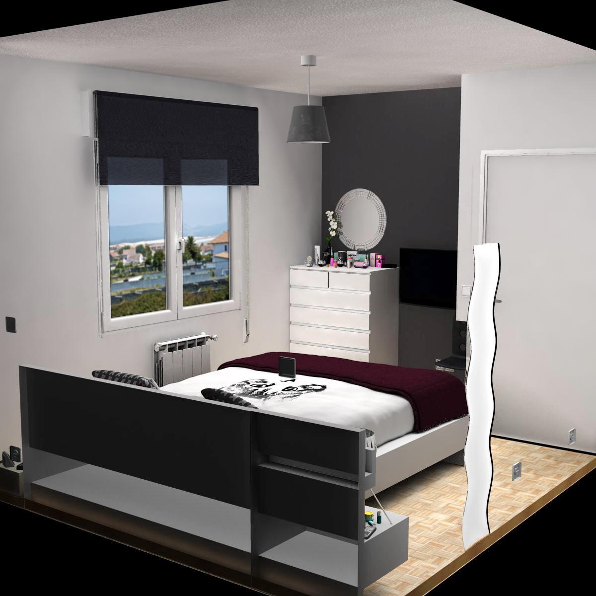 guļamistaba 8 3d modelis 3ds max fbx c4d ma mb obj 159563