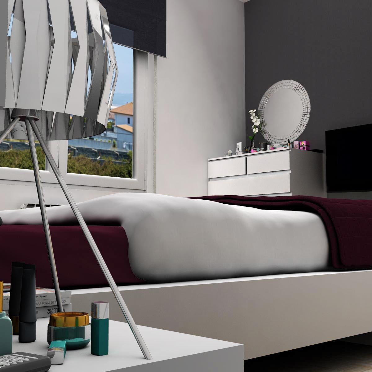 bedroom 8 3d model 3ds max fbx c4d ma mb obj 159565