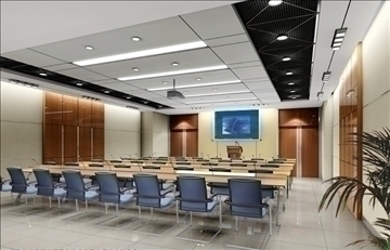 boardroom 001 3d model 3ds max 82998