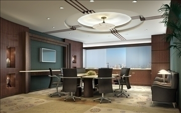 boardroom 003 3d model 3ds max 83001